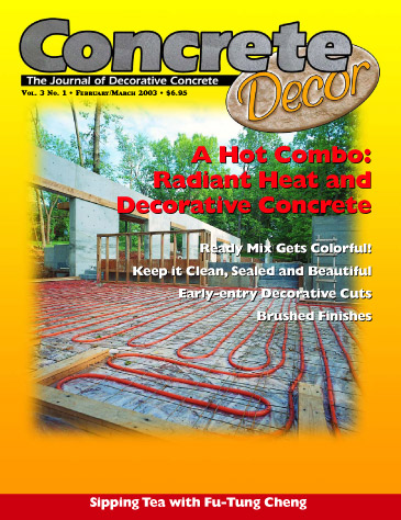 Concrete Decor - Vol. 3 No. 1 - February/March 2003