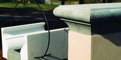 An alternative to a pre-cast concrete wall cap