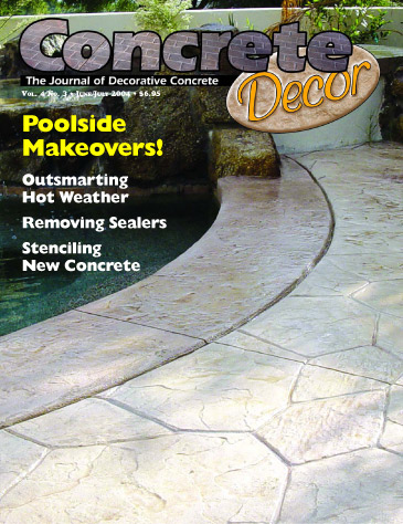 Concrete Decor - Vol. 4 No. 3 - June/July 2004