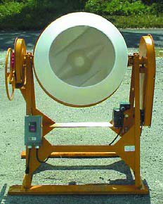 Front shot of the mixer bowl of this portable mixer.