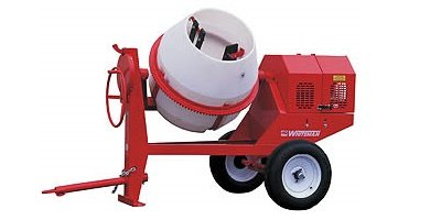 Portable cement mixers are reliable and multifaceted.