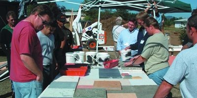 Intensive countertop training is second to none in the countertop market.