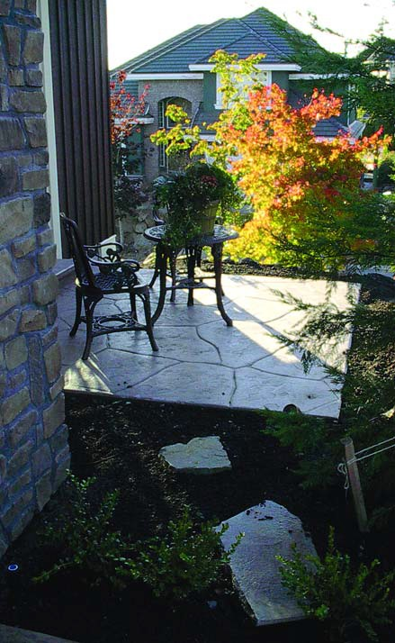 Stamped Concrete Patio Calculator Furniture Lafarges Decorative Concrete  Products Grace A New Home In British