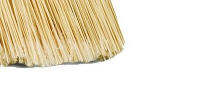How to keep broom bristles straight and why it is important for concrete. Image from www.webstaurantstore.com.