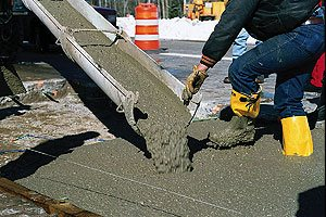 Cold Weather Stamping is doable when you know the right information about how concrete cures.