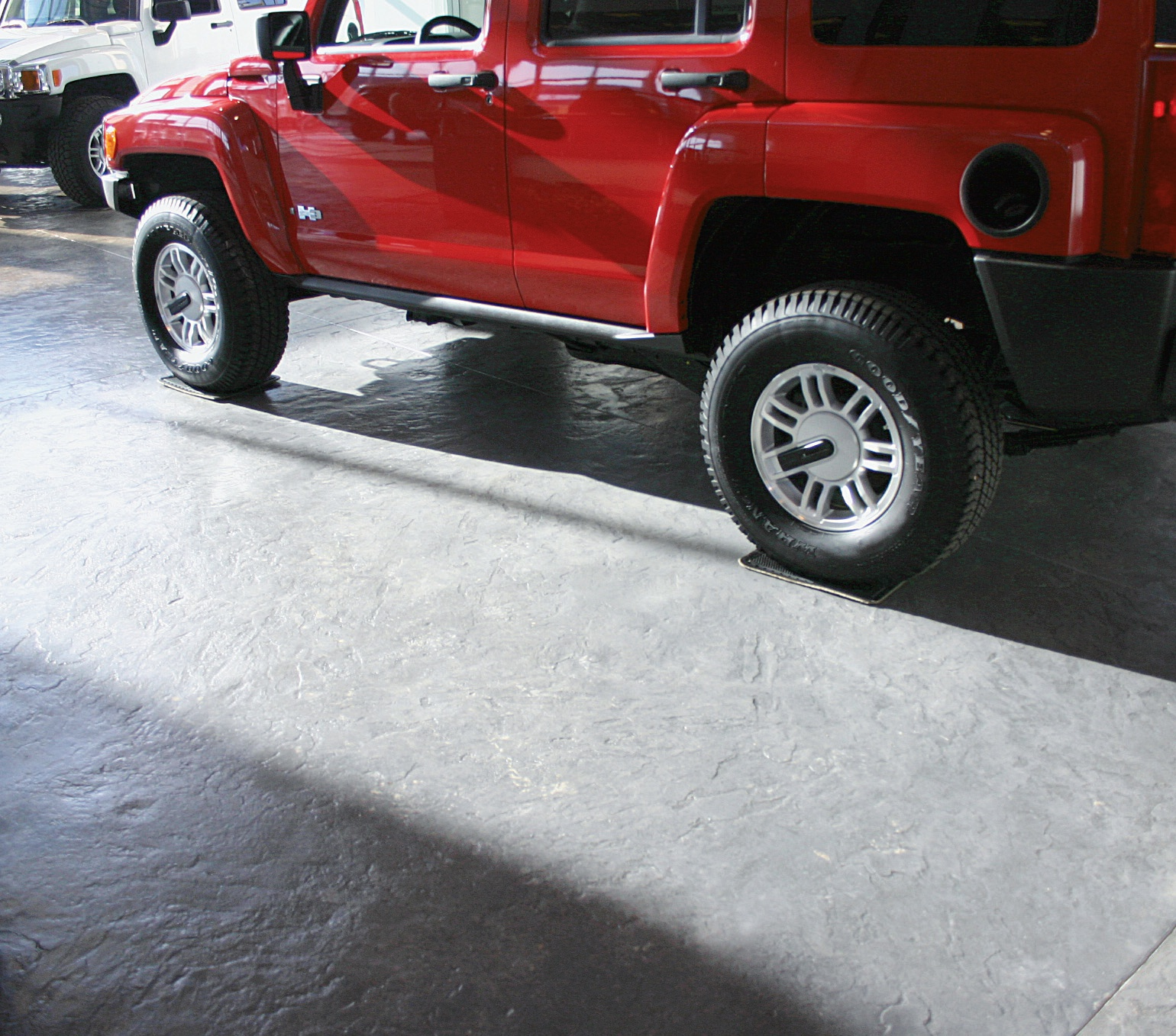 "For example, he explains, his company recently did a stamped concrete floor for a Hummer dealership. ""The owner had no idea how to take care of it, so we put together a proposal where our staff comes out once a month and inspects, deep cleans and waxes the floor. And once a year, we'll do an intense wax removal and recoating."