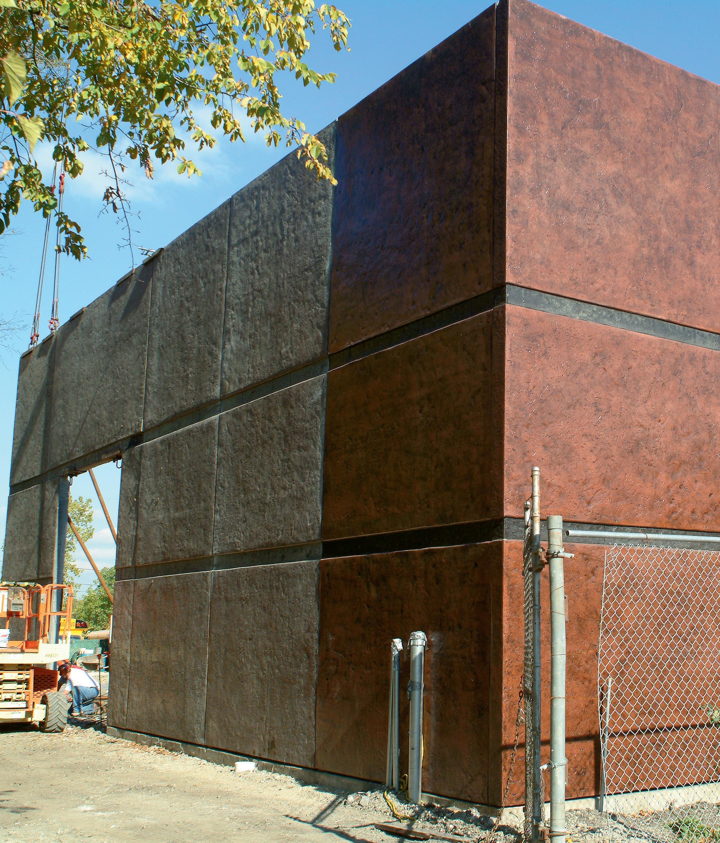 A new process for tilt up concrete walls concrete decor for Concrete exterior walls