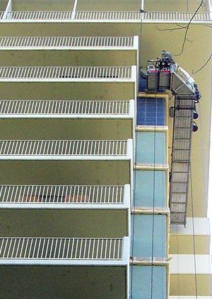 Using Stencils On Outdoor Vertical Surfaces Concrete Decor