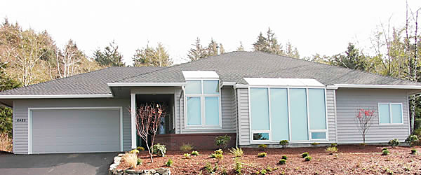The home was built from plans for a model home that the Andersons bought in 1986 in Spokane, Wash. The original house won a top award for energy-efficiency and was built partially in the ground to conserve energy and save on heating and cooling costs.