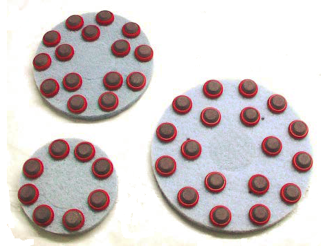 The new I-Shine Polishing Pads from Innovatech boast a new resin diamond matrix that is so good at cutting and polishing concrete