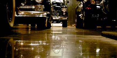 Polishing a floor requires the right tool for the job.