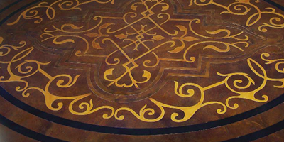Concrete toppings developed for stenciling decorative concrete differ from general-purpose overlays in several ways.