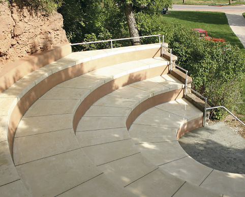 After a perfectly execution restoration project, this amphitheater was restored to all its former glory.
