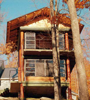 Decorative Concrete In The Forest The Concrete Treehouse