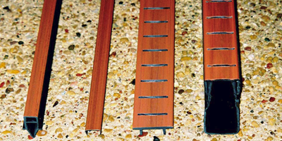 Deck components -redwood deck drains.