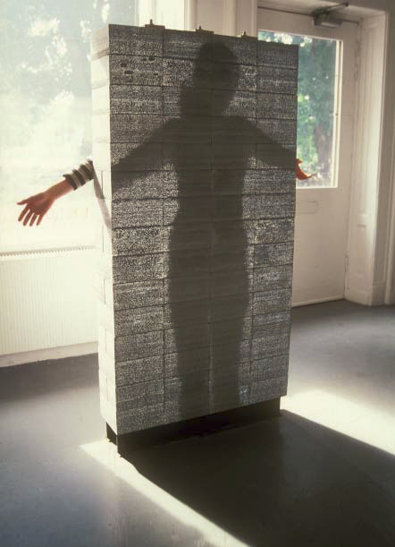 The very first LiTraCon showpiece, built in 2003, was exhibited at Arkitekturmuseet in Skeppsholmen, Sweden. The piece is now part of the permanent collection of the National Building Museum in Washington, D.C.
