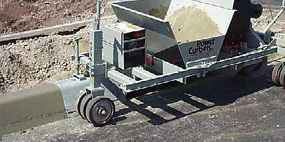 The best concrete curbing machines on the market. Easy way to create concrete curbs.