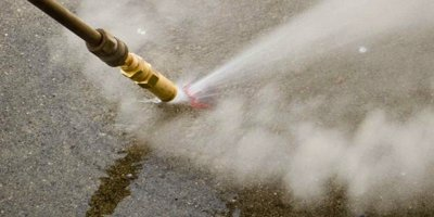 Upscale your pressure washing service by using warm water to remove concrete sealers.