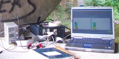 "Concrete thermography is a way to ""bake"" concrete with Microwaves"