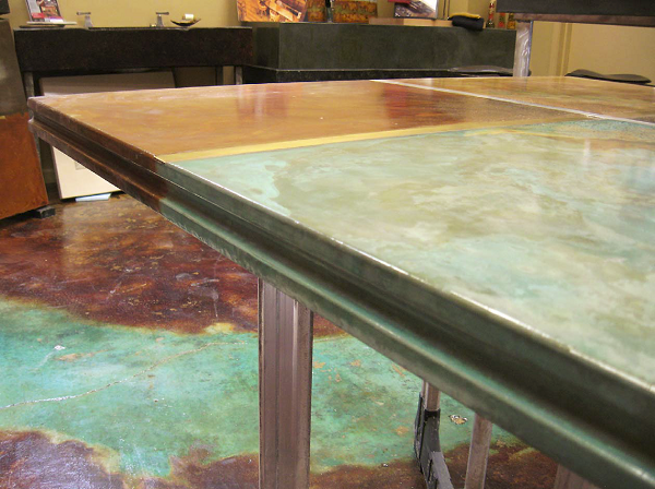 Get That Edge! How Edge Forms Can Transform a Countertop | Concrete