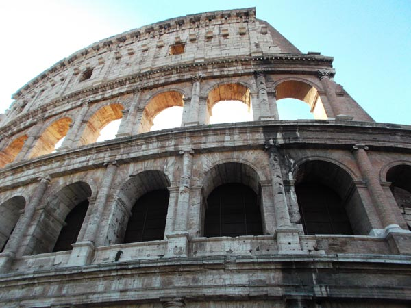 Concrete has the top spot in ancient Roman inventions.