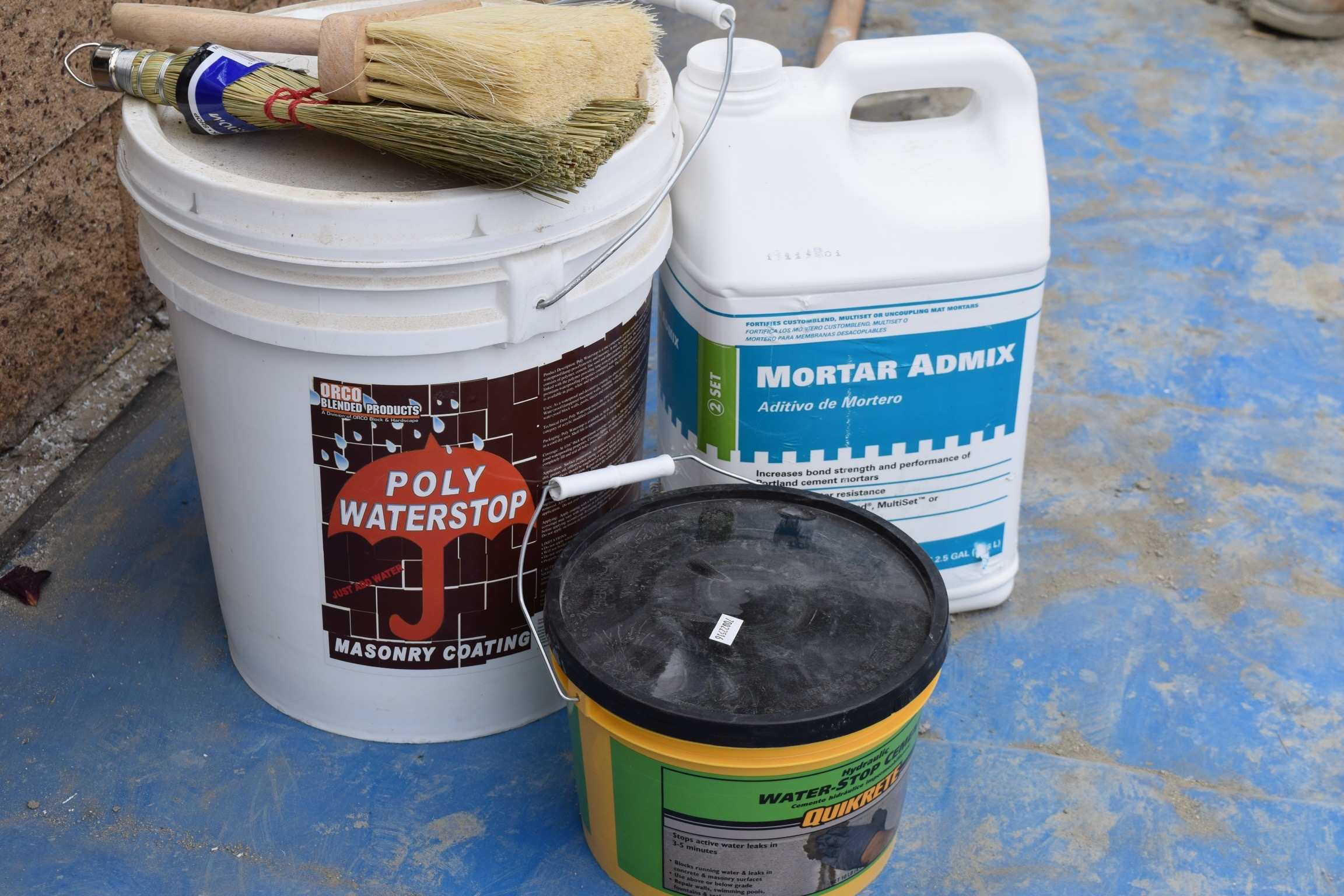 Poly Waterstop waterproofing product