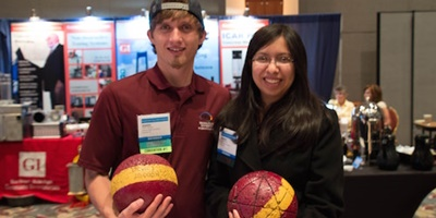 winners of the fiber-reinforced bowling ball competition