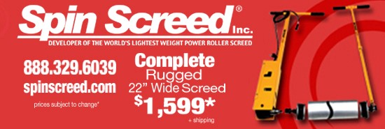 Spinscreed Advertisement