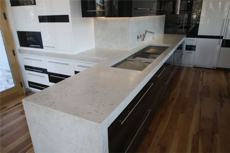 Superior Concrete Countertop Design Competition: Cast In Place That Looks Precast