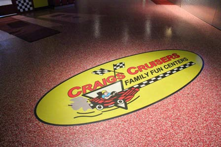 Craig's Cruisers is a western Michigan chain of three family fun centers that feature an arcade, mini-golf course, go-cart racing area, and other interactive games and rides for the whole family.