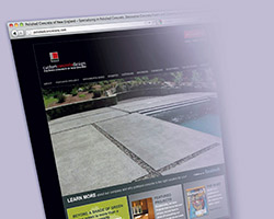 Launching a website is an important part of decorative concrete businesses.