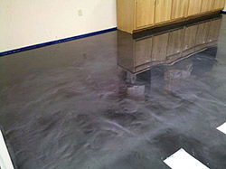 Metallic epoxy by McKinnon Materials adds to the market share.