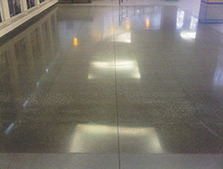 Consistency in polished concrete is important for architectural specifications.
