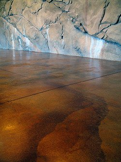 Reactive Stain Effects On Concrete Using Household Items