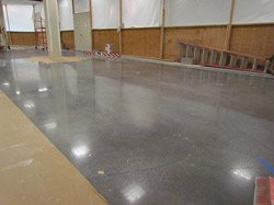 Polished concrete in the Levi's area of J.C. Penney stores nationwide.