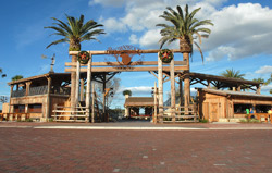 The builders of Brownwood, the latest addition to the Florida boomtown known as The Villages, called on Edwards to help give the new Brownwood town center the look and feel of a Florida cracker settlement of the 1800s.