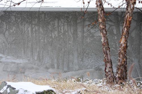 Carving Art out of Concrete | Concrete Decor