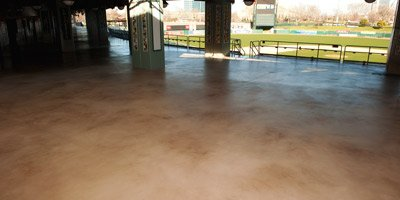 Teamwork, expertise and a carefully picked set of products were the secrets to success during a recent concourse floor coating job at Raley Field, home of Sacramento's minor-league baseball team, the River Cats.