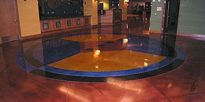 Color in decorative concrete