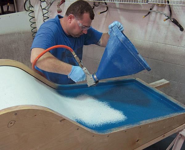 Casting Thin Concrete Furniture With Gfrc Concrete