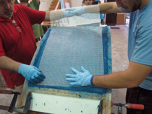 Casting thin concrete furniture with gfrc concrete for Diy cast net