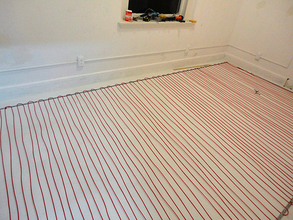 Warmzone Radiant Heating In Concrete Floor