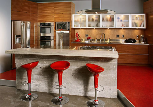 from materials modern of unusual kitchen countertops with countertop ideas pictures designs