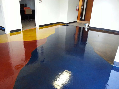 Concrete Floors at The Stain Store
