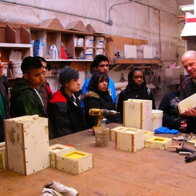 Here's a novel idea we hope becomes a trend — kids taking field trips to visit concrete artisans in their shops.