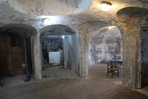 Underground Concrete Building : Contractors get ready to transform the underground