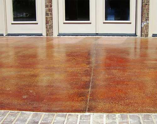 Coloring Concrete