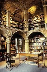 The Spruance Library at the Mercer Museum.
