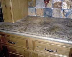 Polymer Modified Concrete Countertop Mix Has A Big Advantage In The Forming  Process.