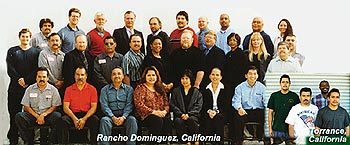 The Miracote team in Racnho Dominguez, California